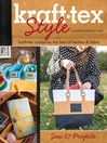 kraft*tex Style (eBook): kraft*tex Combines the Best of Leather & Fabric - Sew 27 Projects