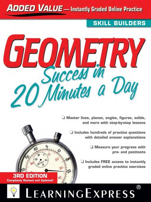 Geometry Success in 20 Mins (eBook)
