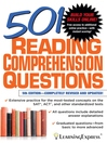 501 Reading Comprehension Questions (eBook)