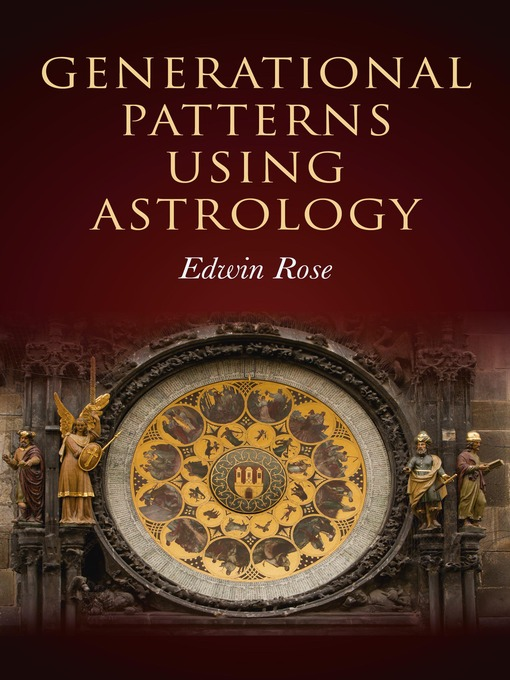 Generational Patterns Using Astrology (eBook)