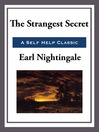 The Strangest Secret (eBook)