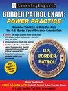 Border Patrol Exam (eBook): Power Practice