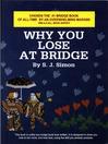 Why You Lose at Bridge (eBook)