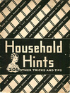 Household Hints (eBook): 205 Other Tricks and Tips