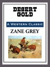 Desert Gold (eBook)