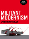 Militant Modernism (eBook)