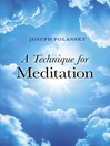 A Technique for Meditation (eBook)