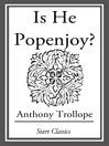Is He Popenjoy? (eBook): A Novel