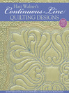 Hari Walner's Continuous-Line Quilting Designs (eBook): 80 Patterns for Blocks, Borders, Corners & Backgrounds
