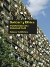 Solidarity Ethics (eBook): Transformation in a Globalized World