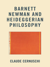 Barnett Newman and Heideggerian Philosophy (eBook)