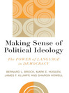 Making Sense of Political Ideology (eBook): The Power of Language in Democracy