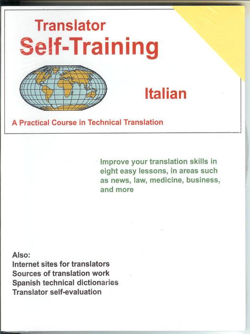 Translator Self-Training (eBook): Italian - A Practical Course in Technical Translation
