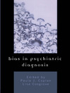 Bias in Psychiatric Diagnosis (eBook)