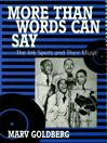 More Than Words Can Say (eBook): The Ink Spots and Their Music