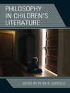 Philosophy in Children's Literature (eBook)