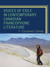 Voices of Exile in Contemporary Canadian Francophone Literature (eBook)