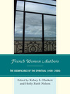 French Women Authors (eBook): The Significance of the Spiritual, 1400–2000