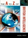 The A to Z of British Intelligence (eBook)
