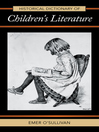 Historical Dictionary of Children's Literature (eBook)