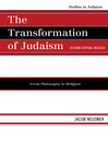 The Transformation of Judaism (eBook): From Philosophy to Religion