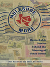 Muleshoe and More (eBook): The Remarkable Stories Behind the Naming of Texas Towns
