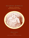 Reading Riddles (eBook): Rhetorics of Obscurity from Romanticism to Freud