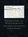 Chemistry for Nonchemists (eBook): Principles and Applications for Environmental Practitioners