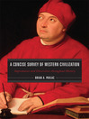 A Concise Survey of Western Civilization (eBook): Supremacies and Diversities throughout History