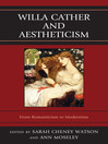 Willa Cather and Aestheticism (eBook)