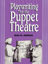 Playwriting for Puppet Theatre (eBook)