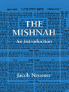 The Mishnah (eBook): An Introduction