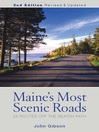 Maine's Most Scenic Roads (eBook)