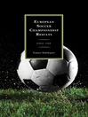 European Soccer Championship Results (eBook): Since 1958
