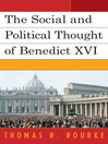 The Social and Political Thought of Benedict XVI (eBook)