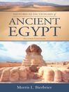 Historical Dictionary of Ancient Egypt (eBook)