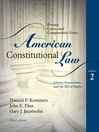 American Constitutional Law, Volume 2 (eBook): Essays, Cases, and Comparative Notes