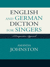 English and German Diction for Singers (eBook): A Comparative Approach