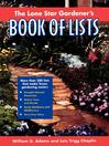 The Lone Star Gardener's Book of Lists (eBook)