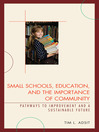 Small Schools, Education, and the Importance of Community (eBook): Pathways to Improvement and a Sustainable Future
