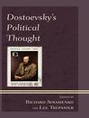 Dostoevsky's Political Thought (eBook)