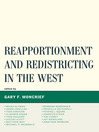 Reapportionment and Redistricting in the West (eBook)