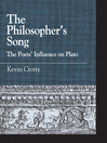 The Philosopher's Song (eBook): The Poets' Influence on Plato