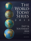 East and Southeast Asia 2013 (eBook)