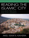 Reading the Islamic City (eBook): Discursive Practices and Legal Judgment