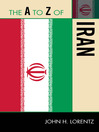 The A to Z of Iran (eBook)