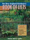 The New England Gardener's Book of Lists (eBook)