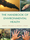 The Handbook of Environmental Health (eBook)