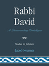 Rabbi David (eBook): A Documentary Catalogue