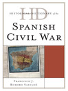 Historical Dictionary of the Spanish Civil War (eBook)